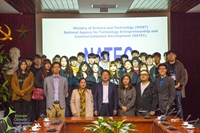 Warm wellcome for the delegation from Daejin University, south Korea to VCIC