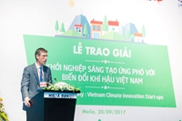 Award Ceremony Vietnam Climate Innovation Startups