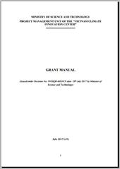 Grant Manual 2017