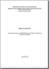 Grant Manual