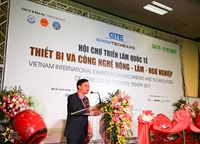 THE FIRST VIETNAM INTERNATIONAL EXHIBITION ON MACHINERIES  TECHNOLOGIES OF AGRICULTURE, FORESTRY, FISHERY 2017 GROWTECH 2017