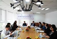 Signing ceremony of the memorandum of understanding between VCIC an I T K T
