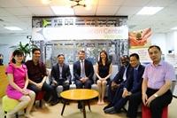 VCIC welcomed Australian environment ambassador patrick suckling