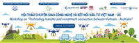 [INVITATION LETTER] workshop on technology transfer and investment connection between Vietnam - Australia