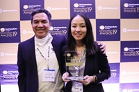 Valorized shrimp waste Vietnam Food awarded at Fi Europe 2019 for upcycled seafood by-products