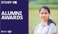 Overcoming 1300 records worldwide, Nguyen Phuong Thao Co-Founder Nguyen Khoi Farm won the Top 3 UK Alumni Awards 2021