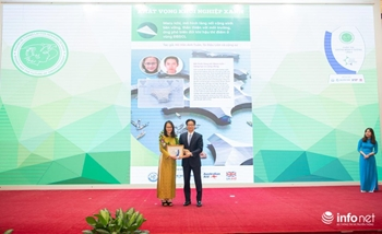 Award Ceremony of the Innovation Competition Women and the future of green economy