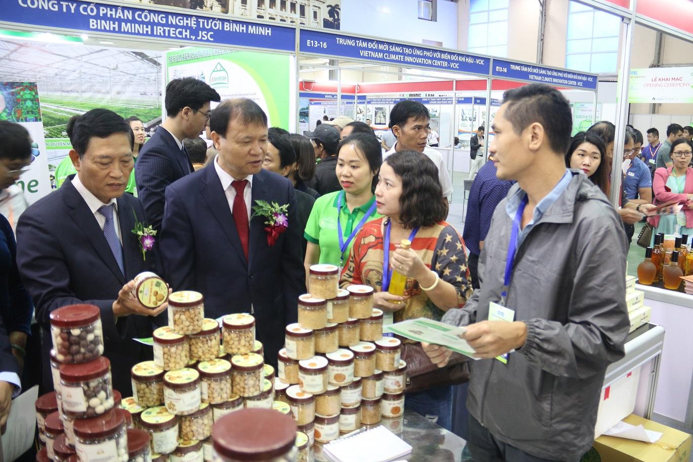 Vietnam Growtech 2019 Sàn giao dịch chuyên nghiệp ngành nông lâm ngư nghiệp