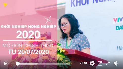 🔥🔥Cơ hội trở thành các startup trẻ tương lai cho các bạn thanh niên sinh viên - KHỞI NGHIỆP NÔNG NGHIỆP 2020 chính thức mở cồng đăng ký tiếp nhận hồ sơ ngay từ hôm nay🔥🔥